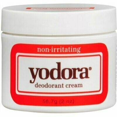 Yodora Deodorant Cream 2 oz