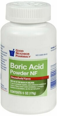 GNP BORIC ACID POWDER 6 OZ
