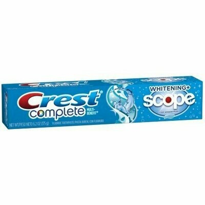Crest Whitening Plus Scope Toothpaste Cool Peppermint 6.20 oz