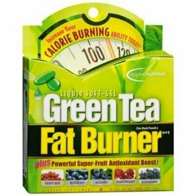 Applied Nutrition Green Tea Fat Burner Liquid Soft-Gels 30 Soft Gels