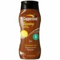 Coppertone Sunscreen Lotion SPF 8 8 oz