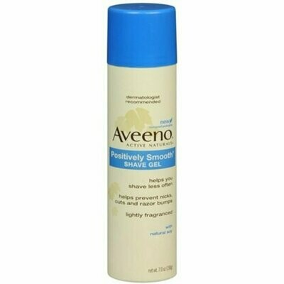 AVEENO Positively Smooth Shave Gel 7 oz