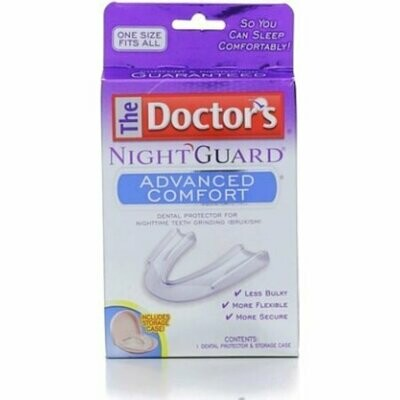 Doctors Nightguard Advanced Comfort Mouth Piece Prevents Grinding And Bite - 1 Each