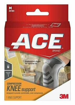 ACE Knitted Knee Support, Medium
