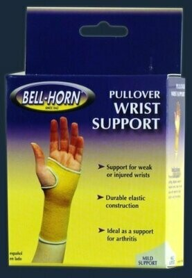Pullover Wrist Support in Beige Size: Small