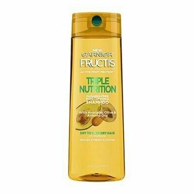 Garnier Fructis Triple Nutrition Fortifying Shampoo, 12.5 Oz