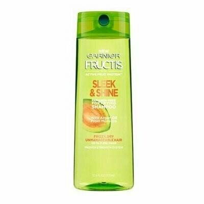Garnier Fructis Sleek And Shine Fortifying Shampoo, 12.5 Oz