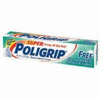 Super Poli-Grip Denture Adhesive Cream - 2.4 Oz