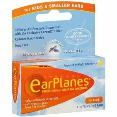 EarPlanes Ear Plugs Kid's Small Size