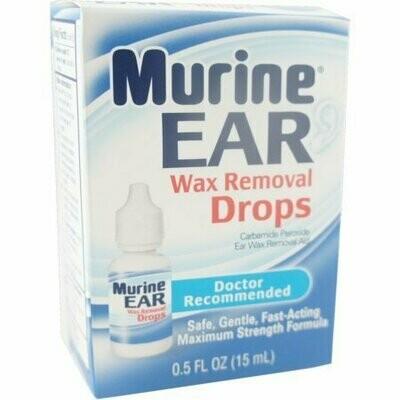 Murine Ear Wax Removal Drops 0.50 oz