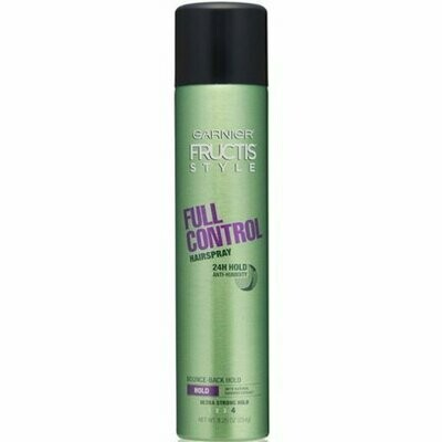 Garnier Fructis Style Full Control Anti-Humidity Hairspray, Ultra Strong Hold 8.25 oz