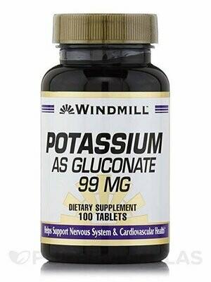 Potassium GLUCONATE TAB 99MG WINDMILL Size: 100