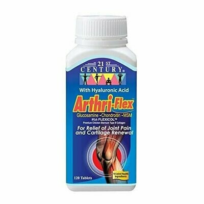21st Century Arthriflex Advantage Tablets, 120 Count