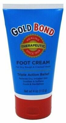 GOLD BOND FOOT CREAM THERAPEUTIC 4OZ