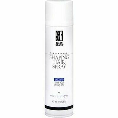Salon Grafix Shaping Hair Spray Unscented 10 oz