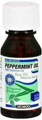 PEPPERMINT OIL 1 OZ HUMCO