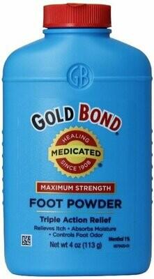 GOLD BOND FOOT POWDER 4OZ
