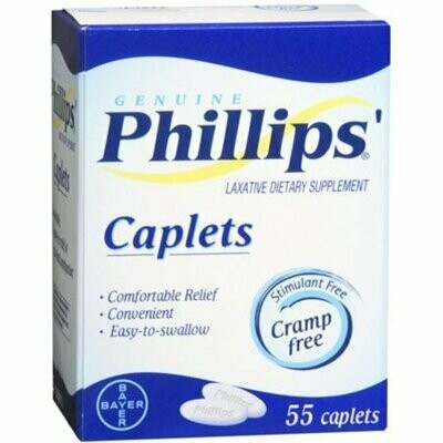 Phillips' 55 Caplets