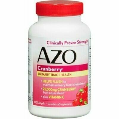 AZO Cranberry, Maximum Strength, Softgels 100 each