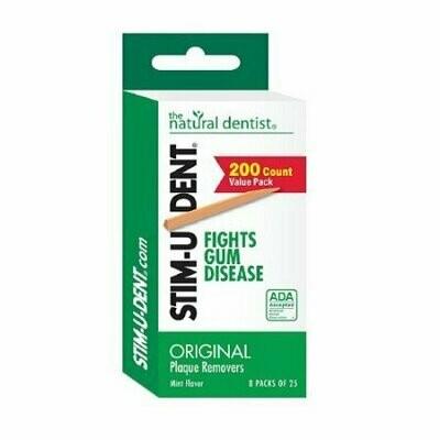 Stim-U-Dent Plaque Removers Value Pack, Mint Flavor - 200 Each