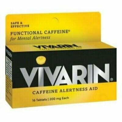 Vivarin Caffeine Alertness Aid, Tablets 16 each