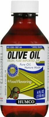 OLIVE OIL 4 OZ HUMCO