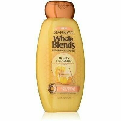 Garnier Whole Blends Repairing Shampoo, Honey Treasures Extracts 12.50 oz