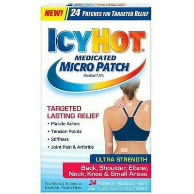 ICY HOT Medicated Micro Patch 24 each