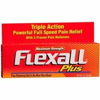 Flexall Plus Gel Maximum Strength 4 oz