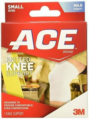 ACE Knitted Knee Support, Small