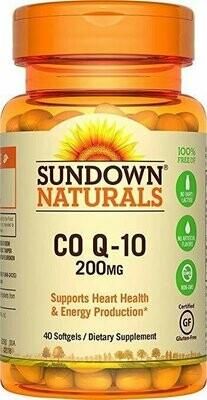 Sundown Naturals�� Co Q-10 200 mg, 40 Softgels