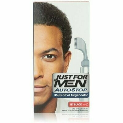 JUST FOR MEN AutoStop Foolproof Haircolor, Jet Black A-60 1 each