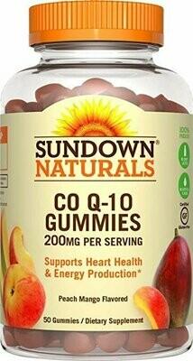 Sundown Naturals�� Co Q-10 200 mg, 50 Gummies