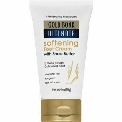 GOLD BOND ULTIMATE CREAM SOFT FOOT 4OZ