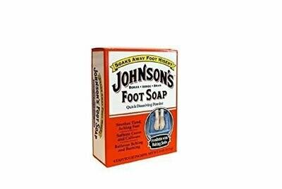 JOHNSONS FOOT SOAP
