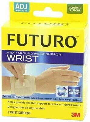 Futuro Wrap Around Wrist Support, Beige, Adjustable
