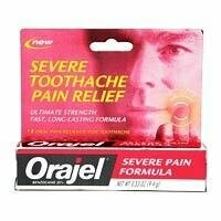 Orajel Severe Formula Toothache Pain Relief Remedy - 0.33 Oz