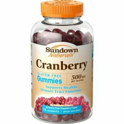 Sundown Naturals Cranberry 500 mg Gummies 75 each