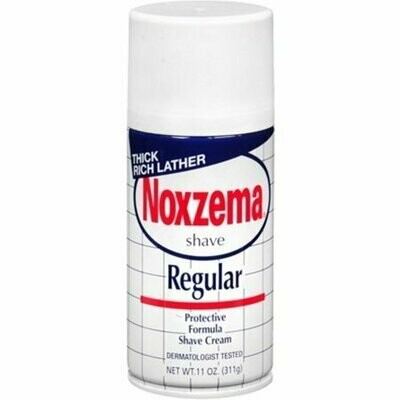 Noxzema Shave Cream Regular 11 oz
