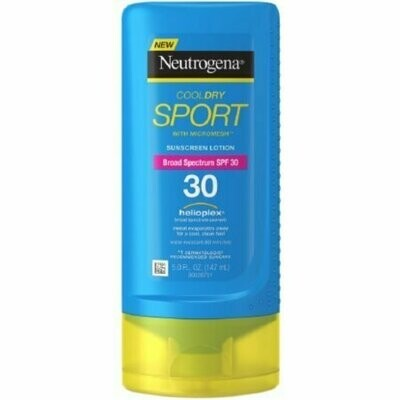 Neutrogena CoolDry Sport Sunscreen Lotion, SPF 30 5 oz