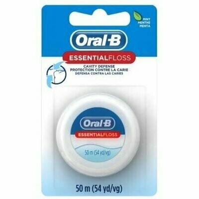 Oral-B EssentialFloss Waxed Mint 55 Yards