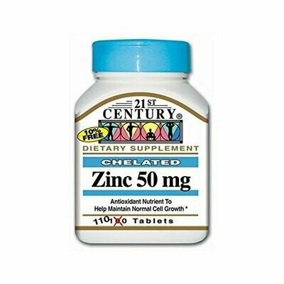 Zinc 50 mg - 110 tabs