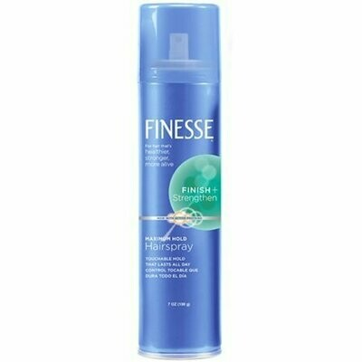 Self Adjusting Maximum Hold Hairspray by Finesse for Unisex - 7 oz Hair Spray