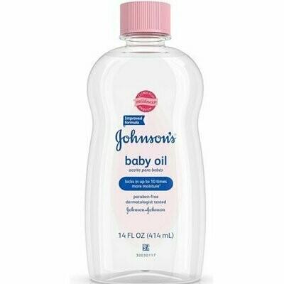 JOHNSON'S Baby Oil 14 oz