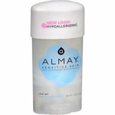 Almay Anti-Perspirant & Deodorant Fragrance Free Clear Gel 2.25 oz