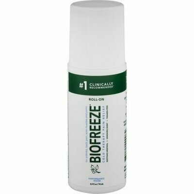 Biofreeze Cold Therapy Pain Relief Roll-On 2.5 oz