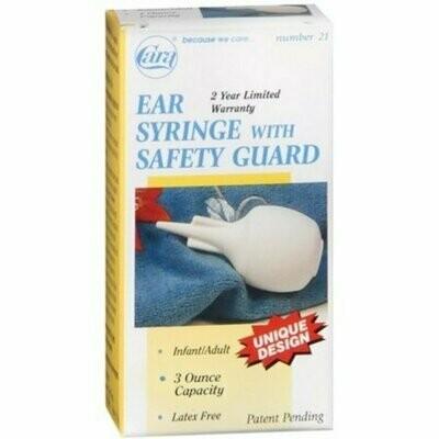 Cara Ear Syringe With Safety Guard 3oz