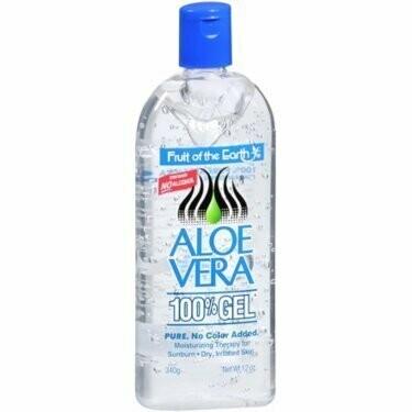 Fruit of the Earth Aloe Vera 100% Gel 12 oz