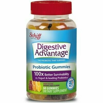 Digestive Advantage Probiotic Gummies, 60 ct