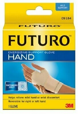 Futuro Energizing Support Glove, Medium, Palm Size 7 1/2